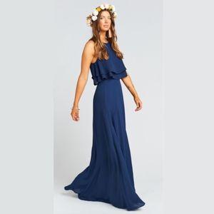 Princess Di Maxi Skirt & King Crop Top (XL)